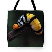 Yellow Caterpillar Tote Bag