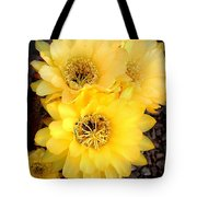 Yellow Cereus Tote Bag