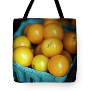 Yellow Cherry Tomatoes Tote Bag