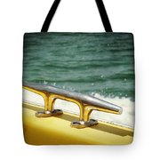 Yellow Cleat Tote Bag