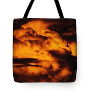 Clouds Time Tote Bag