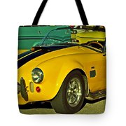 Yellow Cobra Tote Bag