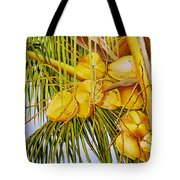 Yellow Coconuts- 01 Tote Bag