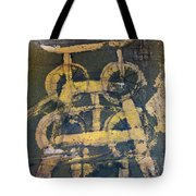 Yellow Colliery Tote Bag
