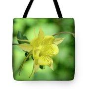 Yellow Columbine  Tote Bag