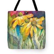 Yellow Coneflower Tote Bag