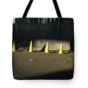 Yellow Cones Tote Bag