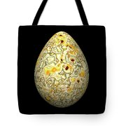 Yellow Conglomerate Egg Tote Bag