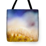 Yellow Coral Reef Macro Tote Bag