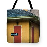 Yellow Cottage French Quarter- Nola Tote Bag