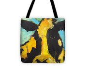 Yellow Cow Tote Bag