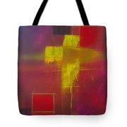 Yellow Cross Tote Bag