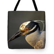 Yellow Crowned Night Heron Tote Bag