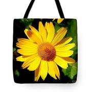 Yellow Daisey Tote Bag
