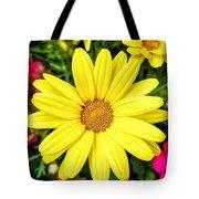 Yellow Daisies Tote Bag