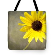 Yellow Daisy By Darrell Hutto Tote Bag