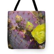 Yellow Desert Bloom Tote Bag