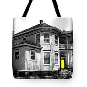 Yellow Door Tote Bag