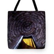 Yellow Doorway Abstract Tote Bag