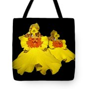 Yellow Dresses Tote Bag
