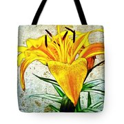 Yellow Easter Lily Tote Bag