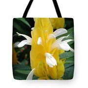 Yellow Eruption Tote Bag