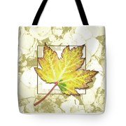 Yellow Fall Tote Bag
