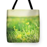 Yellow Fields Tote Bag