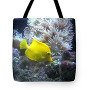 Yellow Fish Tote Bag