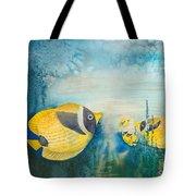 Yellow Fish Yellow Fish Tote Bag