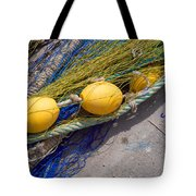 Yellow Floats Tote Bag