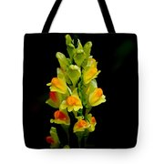 Yellow Floral 7-24-09 Tote Bag