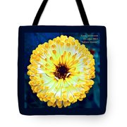 Yellow Flower H A Tote Bag
