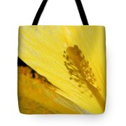 Yellow Flower - Hibiscus Shadow - Sharon Cummings Tote Bag