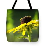 Yellow Flower In Sunlight Tote Bag