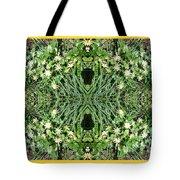 Yellow Flower Mandala 1 Tote Bag