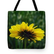 Underside, Petals, Yellow Tote Bag