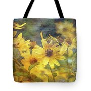 Yellow Flower View 4851 Idp_2 Tote Bag