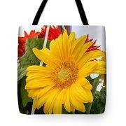 Yellow Gerbera Daisy Tote Bag