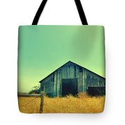 Yellow Grass Tote Bag