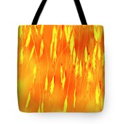 Yellow Grass Spikes Tote Bag