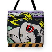 Yellow Haired Tote Bag