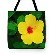 Yellow Hibiscus 3388 Tote Bag