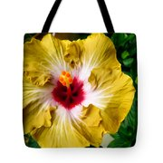 Yellow Hibiscus Flower 1 Tote Bag