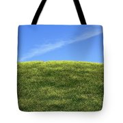 Yellow Hill Tote Bag