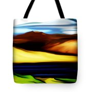 Yellow Hills Tote Bag