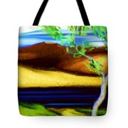 Yellow Hills Revisited Tote Bag