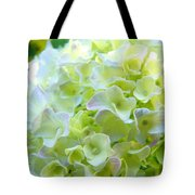 Yellow Hydrangea Flowers Art Prints Baslee Troutman Tote Bag