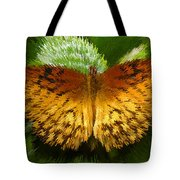 Yellow In The Garden Tote Bag