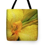 Yellow In The Morning Tote Bag